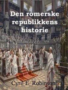 Den romerske republikkens historie (ebok) av