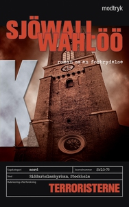 Terroristerne (e-bog) af Maj Sjöwall,