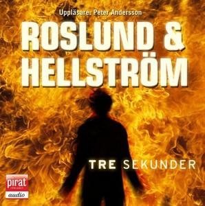 Tre sekunder (ljudbok) av Roslund & Hellström