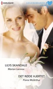 Lilys skandale / Det røde hjertet (ebok) av F
