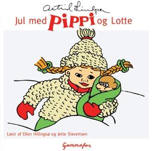Jul med Pippi og Lotte (lydbog) af As