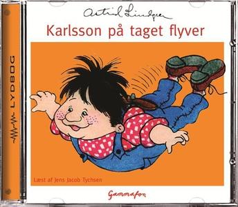 Karlsson på taget flyver (lydbog) af