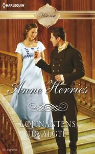 Løjtnantens udvalgte (e-bog) af Anne