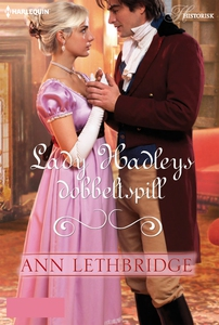 Lady Hadleys dobbeltspill (ebok) av Ann Lethb