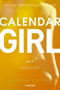 Calendar Girl: August (lydbog) af Aud