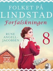 Folket på Lindstad 8 -Forfalskningen (ebok) a