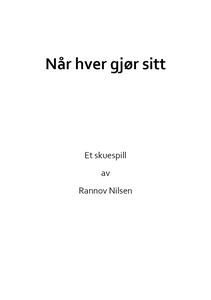 Når hver gjør sitt (ebok) av Rannov Nilsen