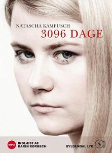 3096 dage (lydbog) af Natascha Kampus