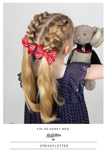 Fin på håret med FletteMia: Strikkfletter (eb