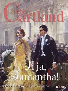 Si ja, Samantha (ebok) av Barbara Cartland