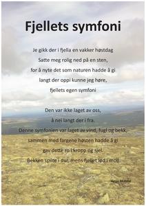 fjellets symfoni (ebok) av Helge MIdtdal