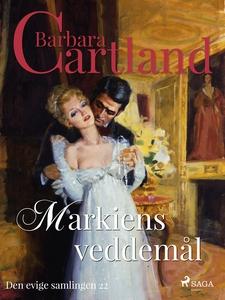 Markiens veddemål (ebok) av Barbara Cartland