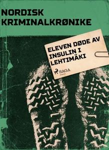 Eleven døde av insulin i Lehtimäki (ebok) av