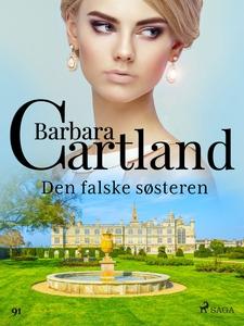 Den falske søsteren (ebok) av Barbara Cartlan