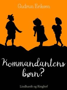 Kommandantens børn (e-bog) af Gudrun