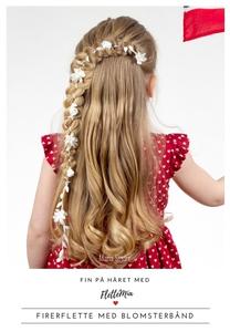 Fin på håret med FletteMia: Firerflette med b