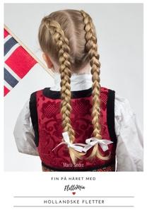 Fin på håret med FletteMia: Hollandske flette