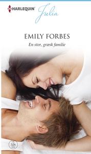 En stor, græsk familie (e-bog) af Emily Forbes