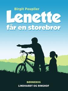 Lenette får en storebror (e-bog) af B