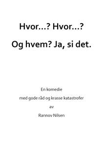 Hvem...? Hvem...? (ebok) av Rannov Nilsen