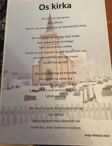 Os kjerka  Diktbilde (ebok) av Helge MIdtdal
