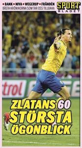 Zlatans 60 största ögonblick (e-bok) av