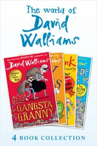The World of David Walliams 4 Book Collection