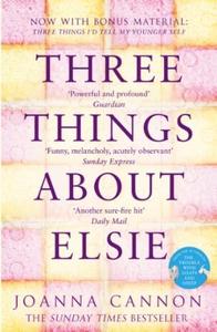 Three Things About Elsie (ebok) av Joanna Can