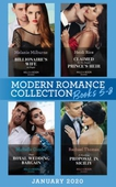 Modern Romance January 2020 Books 5-8