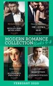 Modern Romance February 2020 Books 5-8