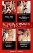 Modern Romance August 2020 Books 5-8