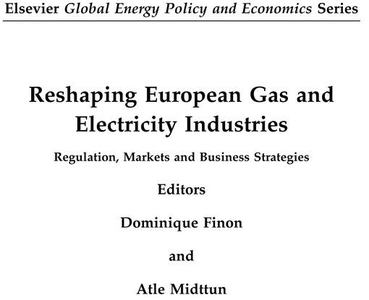 Reshaping European Gas and Electricity Industri