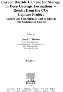 Carbon Dioxide Capture for Storage in Deep Geol