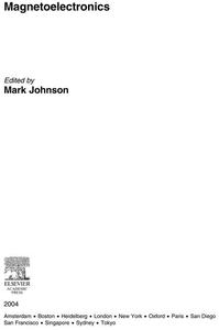 Magnetoelectronics (e-bok) av