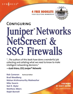 Configuring Juniper Networks NetScreen and SSG