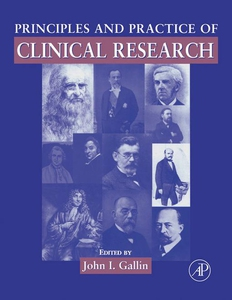 Principles and Practice of Clinical Research (e