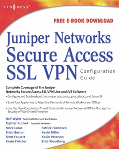 Juniper(r) Networks Secure Access SSL VPN Confi
