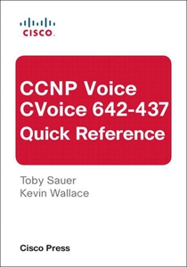 CCNP Voice CVoice 642-437 Quick Reference (e-bo