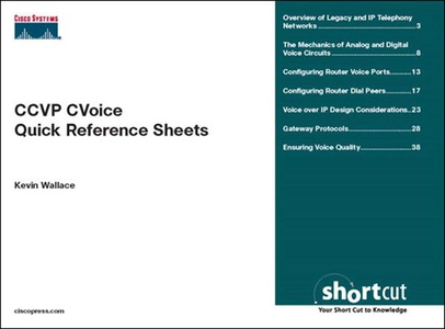 CCVP CVoice Quick Reference Sheets (e-bok) av K