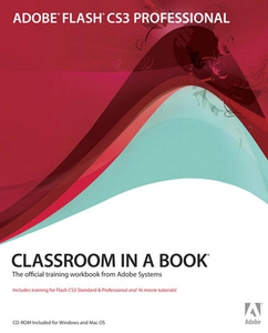 Adobe Flash CS3 Professional Classroom in a Boo