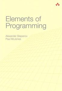 Elements of Programming (e-bok) av Alexander St