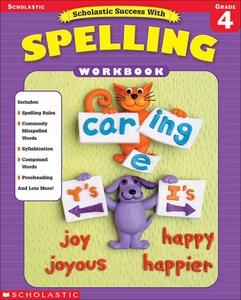 Scholastic Success With Spelling (Grade 4) (e-b
