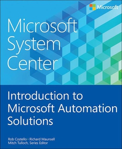 Microsoft System Center Introduction to Microso