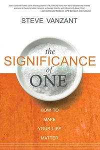 The Significance of One (e-bok) av Steve Vanzan