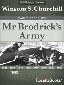 Mr Brodrick's Army (e-bok) av Winston S. Church