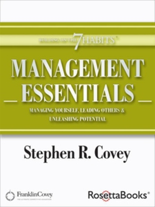 Management Essentials (e-bok) av Stephen Covey