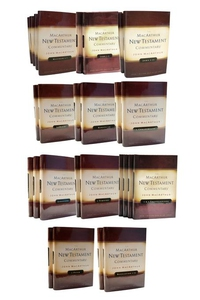 The MacArthur New Testament Commentary Set of 3