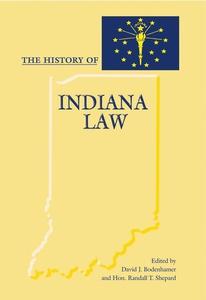 The History of Indiana Law (e-bok) av