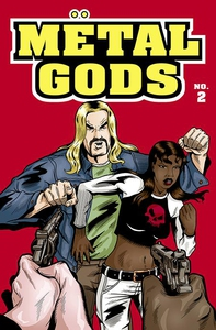 Metal Gods Issue 2 (ebok) av Von Allan
