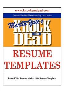 Knock Em Dead Resume Templates (e-bok) av Marti
